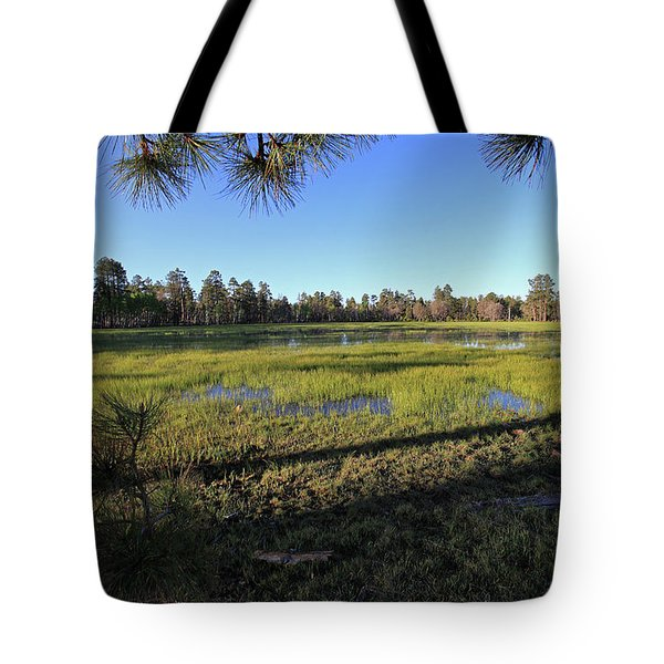 Tote Bag featuring the photograph Rim Glade by Gary Kaylor