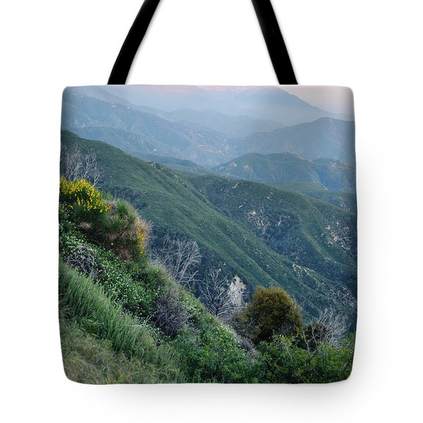 Tote Bag featuring the photograph Rim O' The World National Scenic Byway II by Kyle Hanson