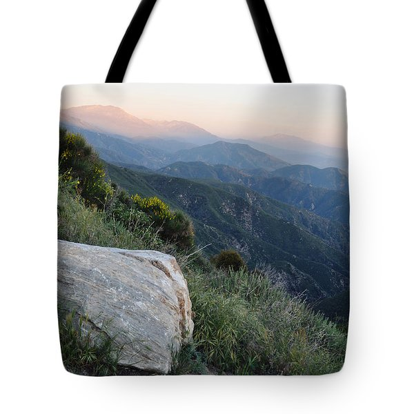 Rim O' The World National Scenic Byway Tote Bag