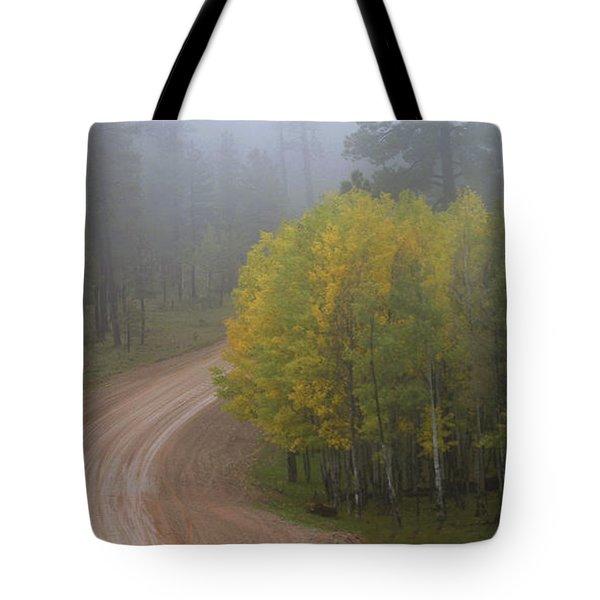 Rim Road Tote Bag