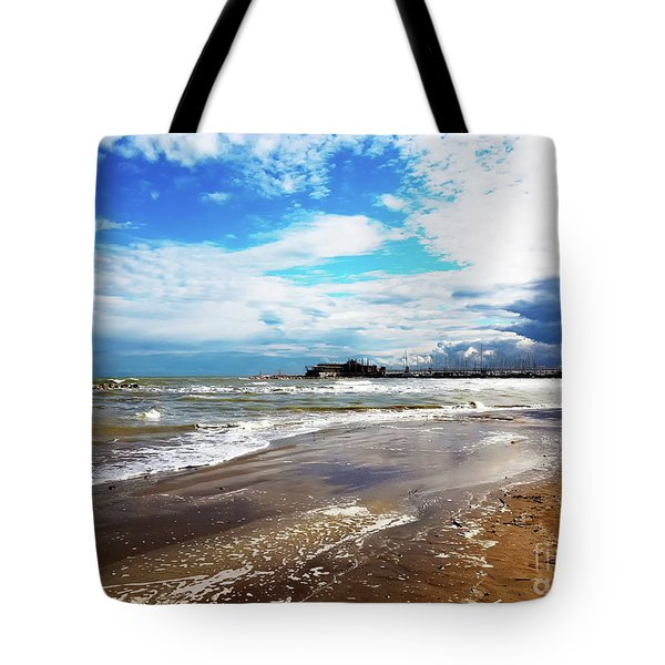 Rimini After The Storm Tote Bag