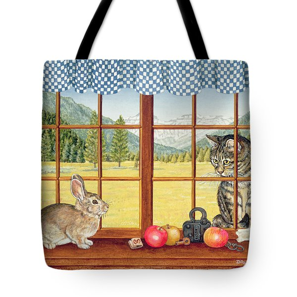 Rimrock Cottontail Tote Bag