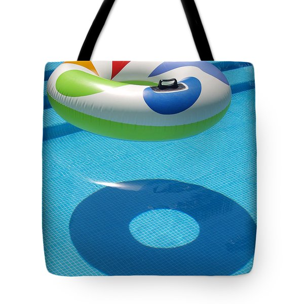 Ring In A Swimming Pool Tote Bag