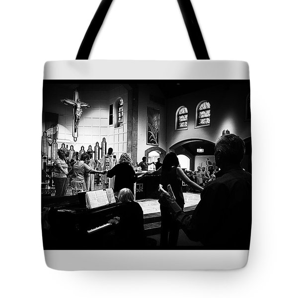 Ring Of Faith Tote Bag