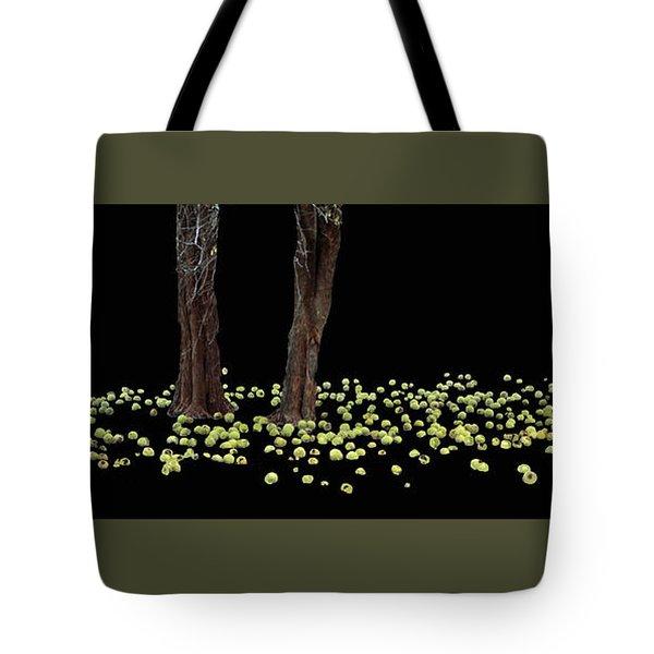 Ring Of Green  Tote Bag