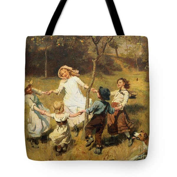 Ring Of Roses Tote Bag