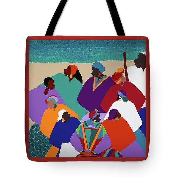 Ring Shout Gullah Islands Tote Bag