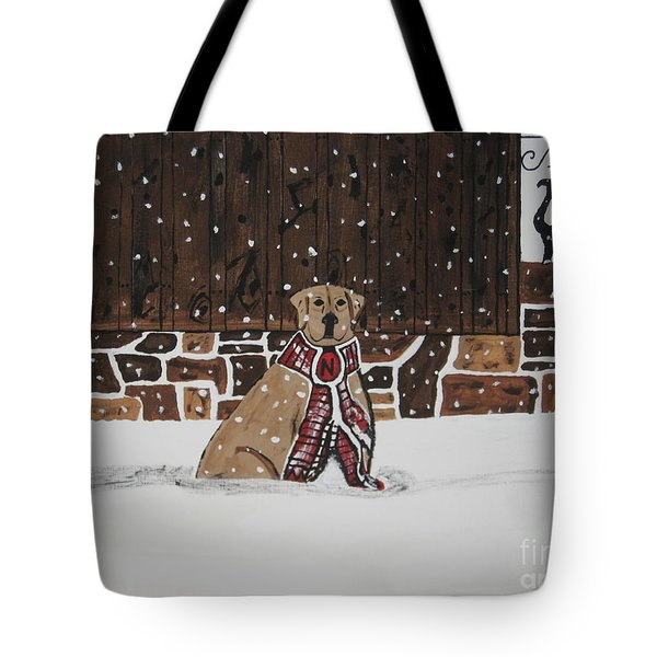 Tote Bag featuring the painting Ring The Dinner Bell by Jeffrey Koss
