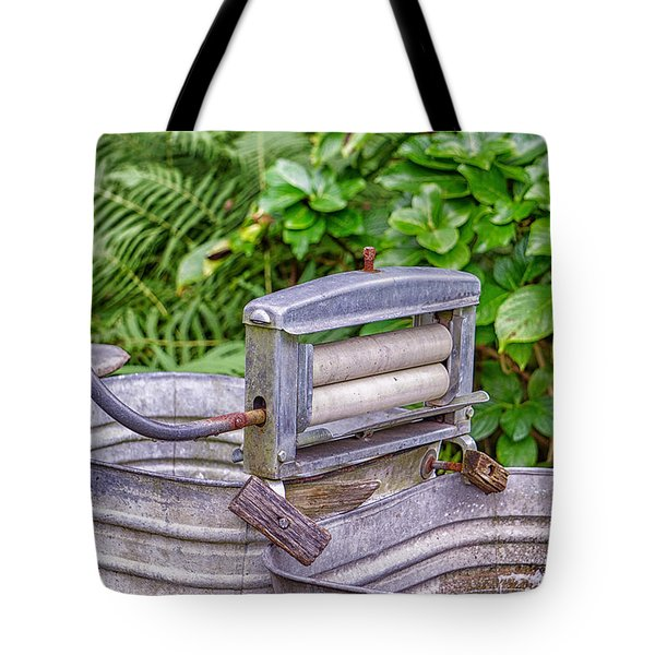 Ringer Wsher Tote Bag