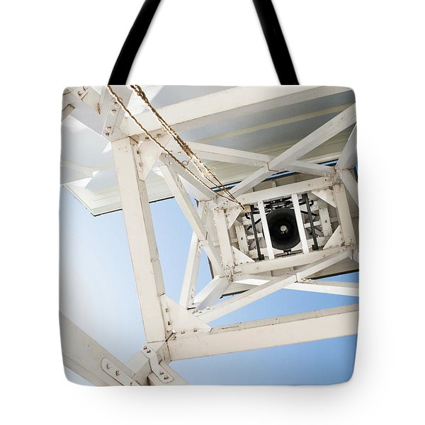 Tote Bag featuring the photograph Ringing Of The Chapel Bell by Parker Cunningham