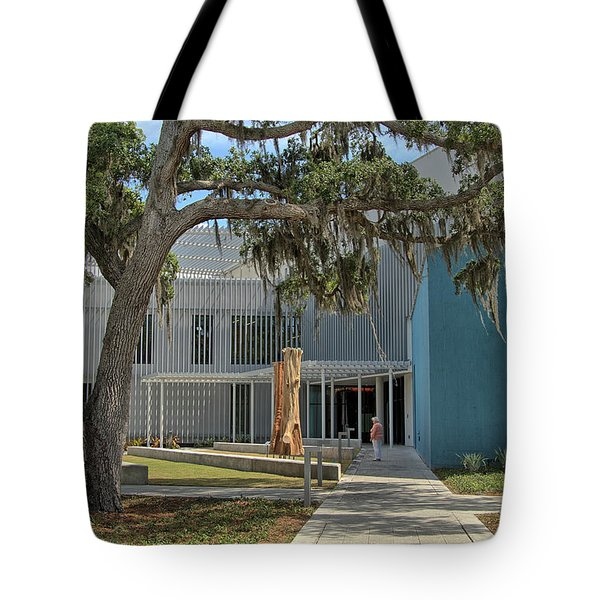 Tote Bag featuring the photograph Ringling College Of Art And Design - Image 2 by Richard Goldman