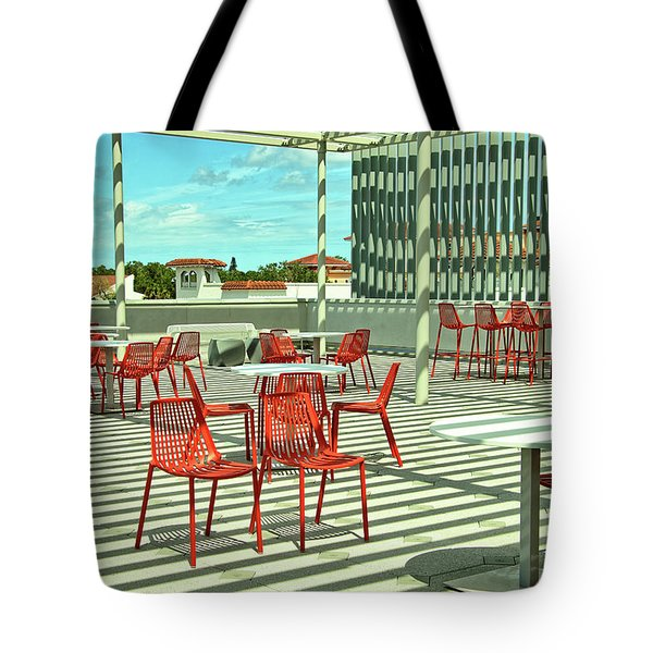 Tote Bag featuring the photograph Ringling College Of Art And Design Image 4 by Richard Goldman