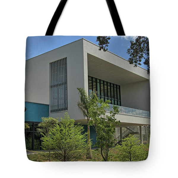 Tote Bag featuring the photograph Ringling College Of Art And Design Library - Image 1 by Richard Goldman