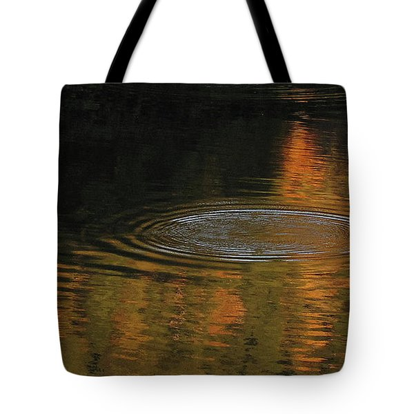 Tote Bag featuring the photograph Rings And Reflections by Suzy Piatt