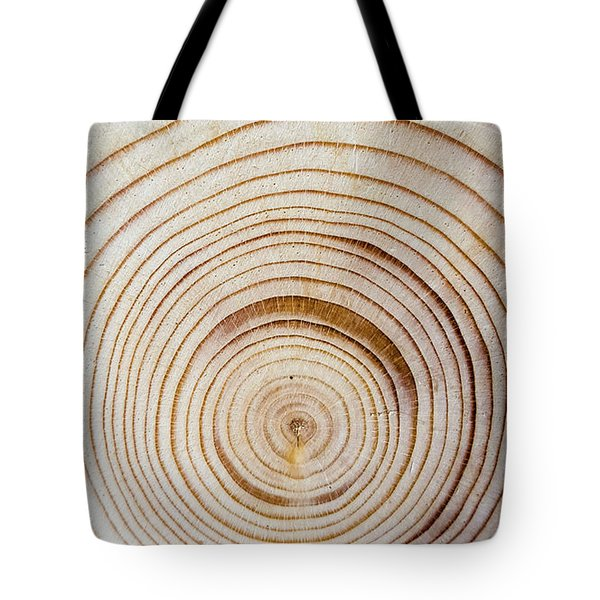 Rings Of A Tree Tote Bag
