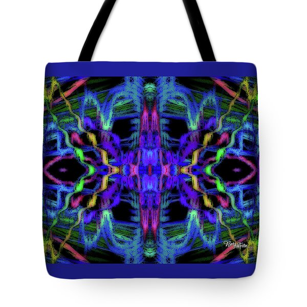 Rings Of Fire Dopamine #156 Tote Bag