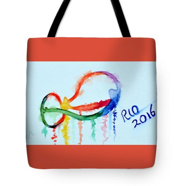 Rio 2016 Tote Bag by Warren Thompson