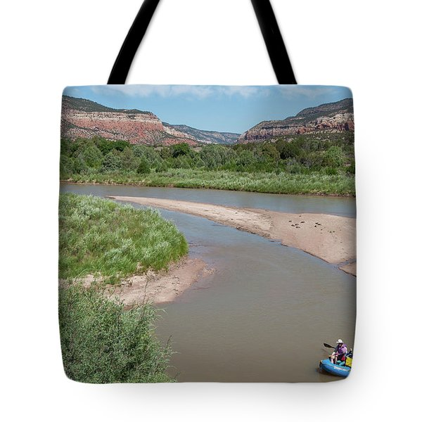 Tote Bag featuring the photograph Rio Chama_rroch by Britt Runyon