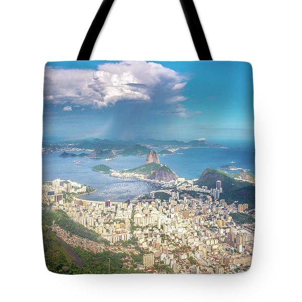 Rio De Janeiro Tote Bag by Andrew Matwijec