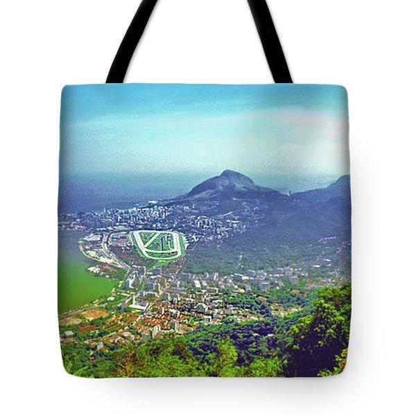 Rio De Janeiro Brazil Panorama Tote Bag