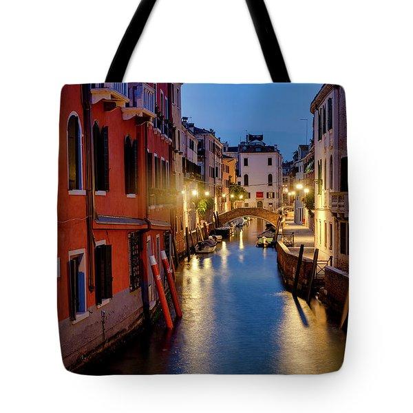 Tote Bag featuring the photograph Rio Di San Vio by Fabrizio Troiani