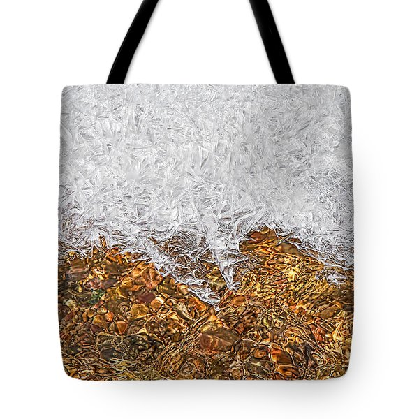 Rio Embudo Ice Tote Bag by Britt Runyon