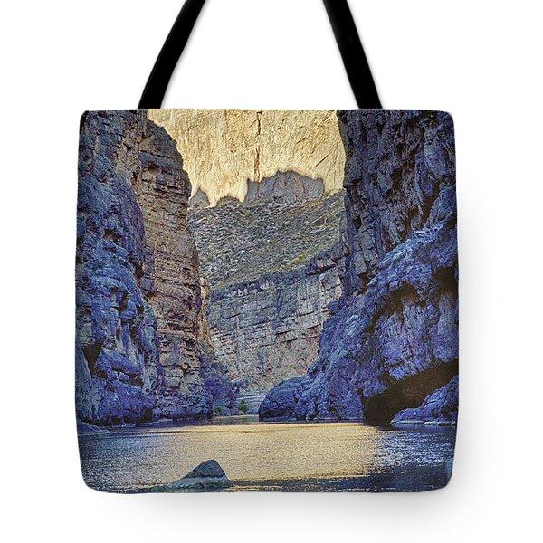 Rio Grand, Santa Elena Canyon Texas 2 Tote Bag