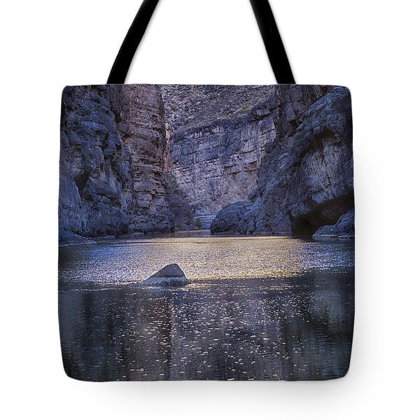 Rio Grand, Santa Elena Canyon Texas Tote Bag by Kathy Adams Clark