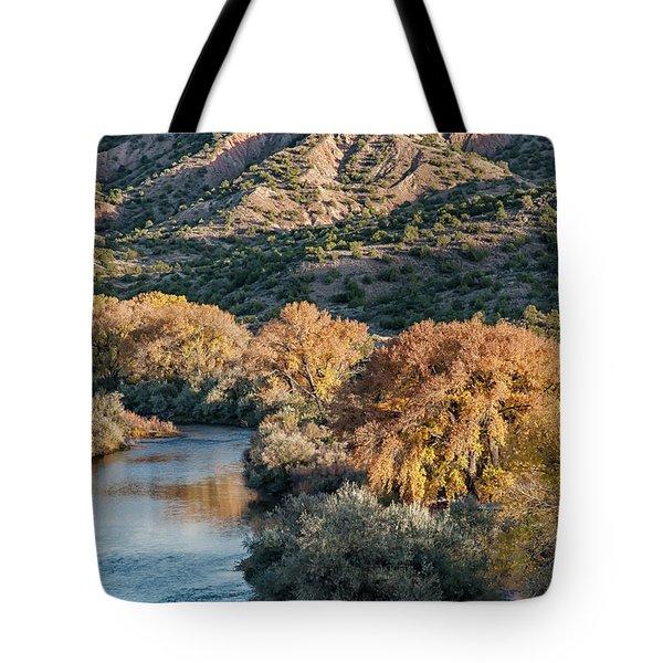 Rio Grande Embudo Vista Tote Bag