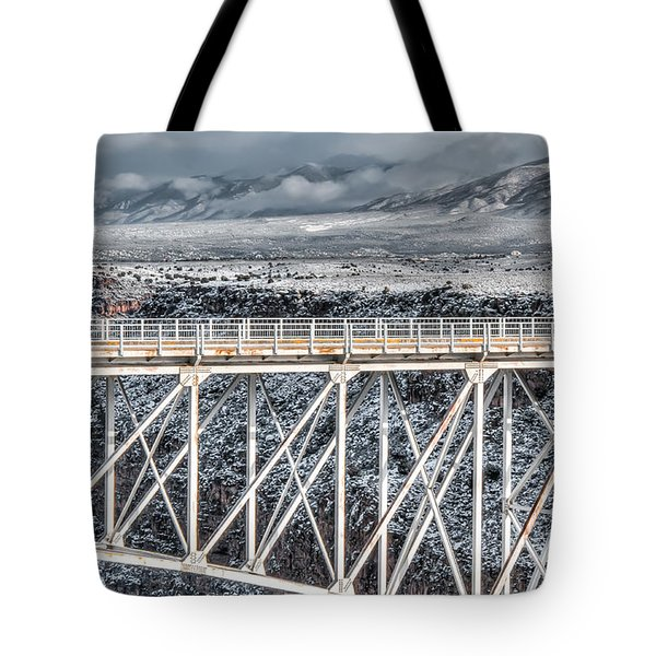 Rio Grande Gorge Bridge #001 Tote Bag