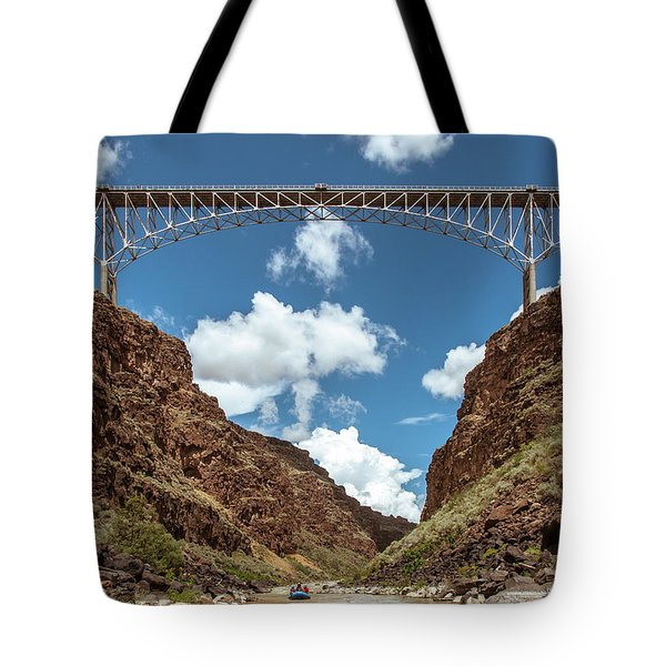 Rio Grande Gorge Bridge Tote Bag by Britt Runyon