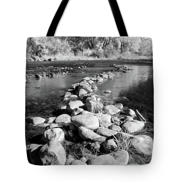 Tote Bag featuring the photograph Rio Grande-infrared by Britt Runyon