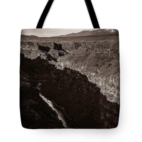 Rio Grande River Taos Tote Bag