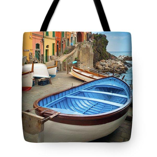 Rio Maggiore Boat Tote Bag