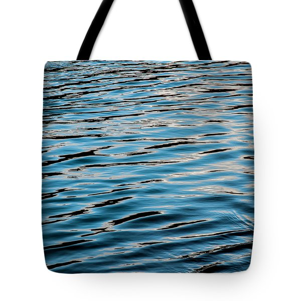 Tote Bag featuring the photograph Rio Water Blue by Britt Runyon