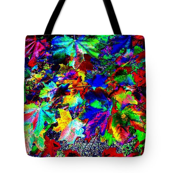 Riot Of Color Tote Bag by Will Borden