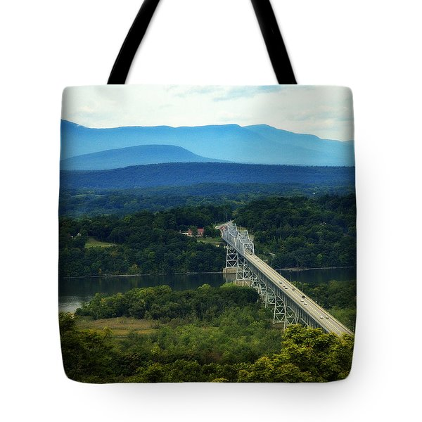Rip Van Winkle Bridge Tote Bag by Bruce Carpenter