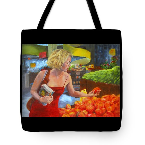 Ripe And Sweet Tote Bag by Connie Schaertl
