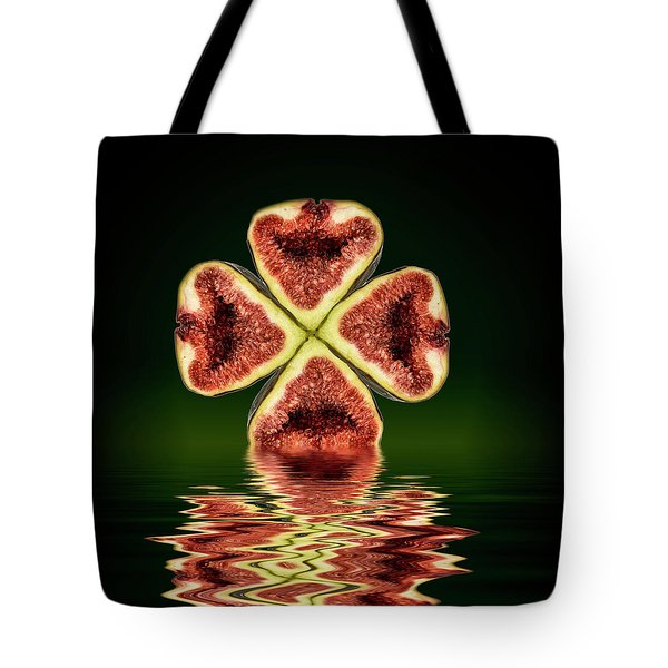 Tote Bag featuring the photograph Ripe Juicy Figs Fruit by David French