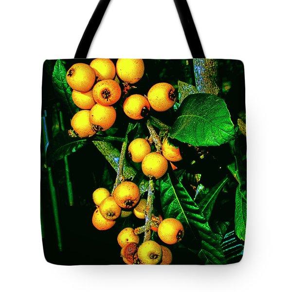 Ripe Loquats Tote Bag
