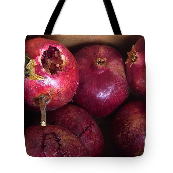 Tote Bag featuring the photograph Ripe by Nora Boghossian