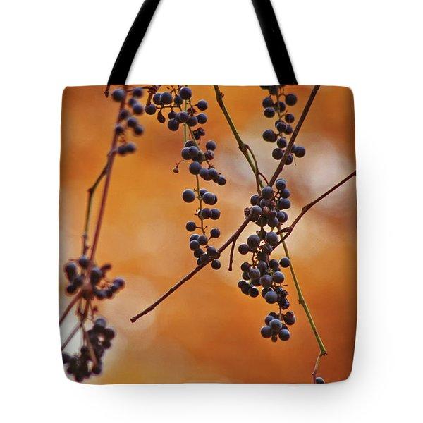 Ripe Wild Grapes  Tote Bag