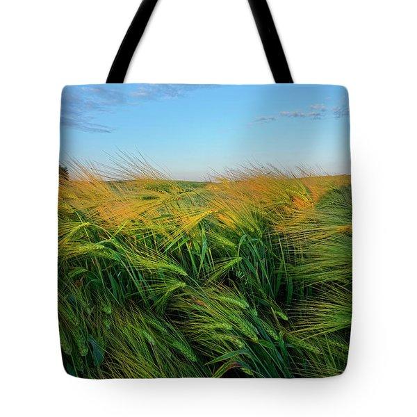 Ripening Barley Tote Bag