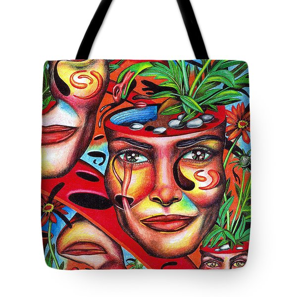 Ripening Of A Lucid Psyche Tote Bag
