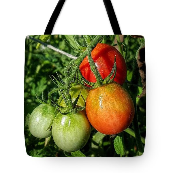 ripening #photography #garden Tote Bag by Andrew Pacheco