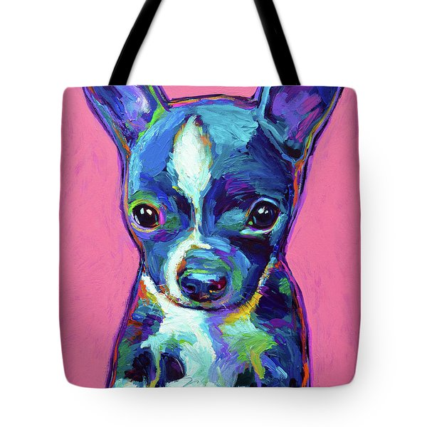 Tote Bag featuring the painting Ripley by Robert Phelps