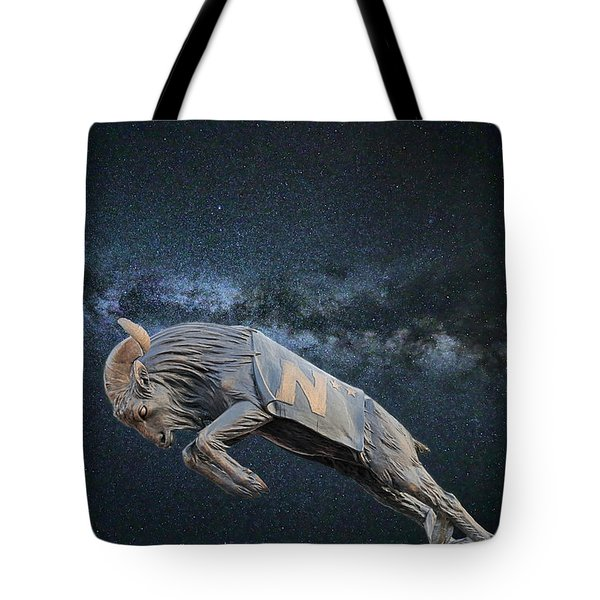 Tote Bag featuring the photograph Ripping Through The Galaxy by JC Findley