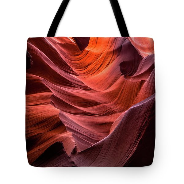 Ripple Of Color Tote Bag