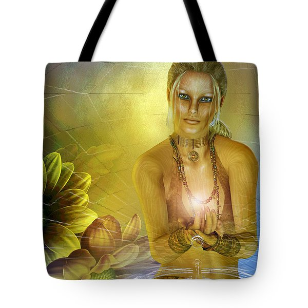 Ripple Of Nature Tote Bag by Shadowlea Is
