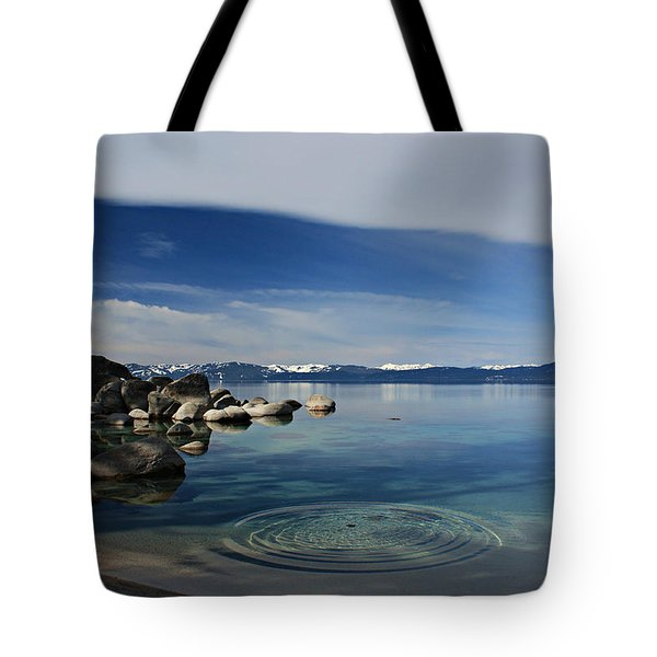 Tote Bag featuring the photograph Ripples   by Sean Sarsfield
